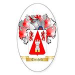 Errichelli Sticker (Oval 50 pk)