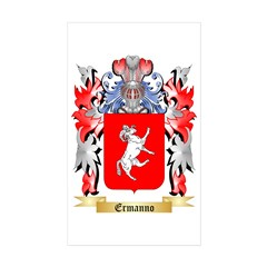 Ermanno Sticker (Rectangle 50 pk)