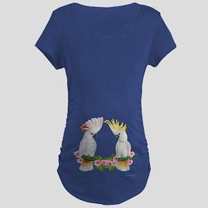 Cockatoo Maternity Dark T-Shirt
