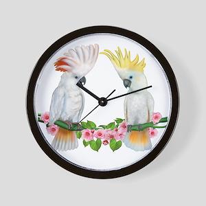 Cockatoo Wall Clock