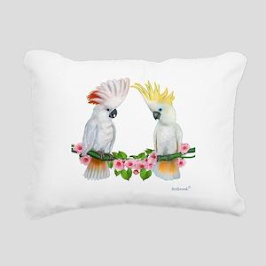 Cockatoo Rectangular Canvas Pillow