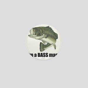 bass man Mini Button