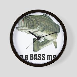 bass man Wall Clock