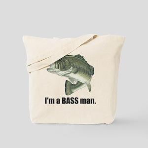 bass man Tote Bag
