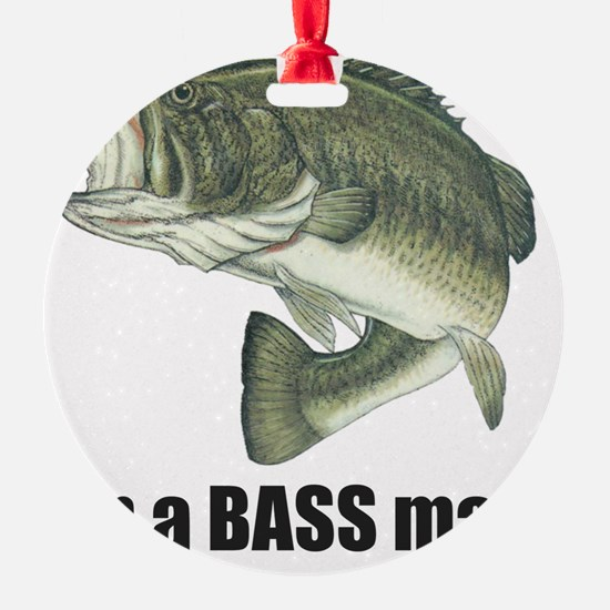bass man Ornament