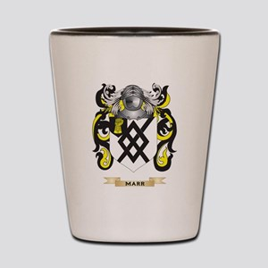 Marr Coat of Arms - Family Crest Shot Glass