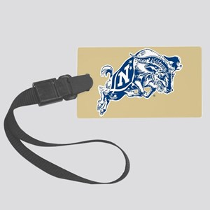 U.S. Naval Academy Bill the Goat Large Luggage Tag