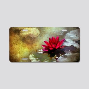 Water Beauty Aluminum License Plate