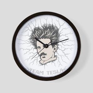 tesla-static-DKT Wall Clock