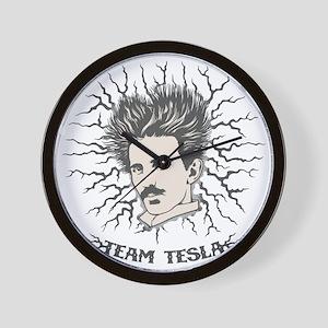tesla-static-LTT Wall Clock