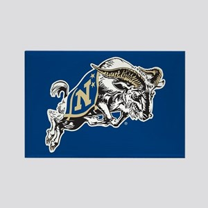 U.S. Naval Academy Bill the Goat Rectangle Magnet