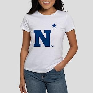 U.S. Naval Academy N Women's Classic White T-Shirt