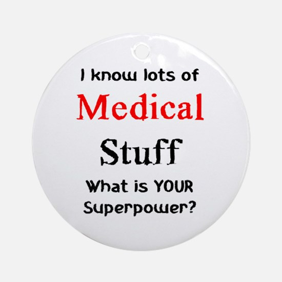 medical stuff Ornament (Round)