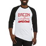 Bacon Plus Anything Baseball Jersey