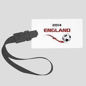 Soccer 2014 ENGLAND Large Luggage Tag
