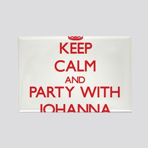 Keep Calm and Party with Johanna Magnets