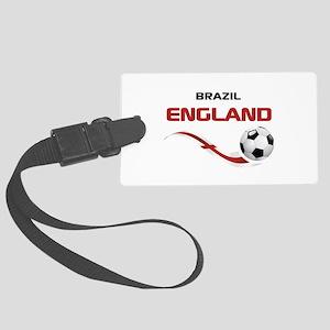 Soccer 2014 ENGLAND 1 Large Luggage Tag