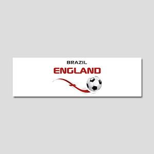 Soccer 2014 ENGLAND 1 Car Magnet 10 x 3