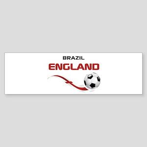 Soccer 2014 ENGLAND 1 Sticker (Bumper)