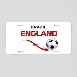 Soccer 2014 ENGLAND 1 Aluminum License Plate