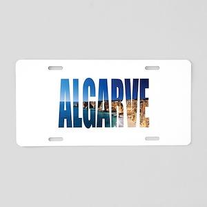 Algarve Aluminum License Plate
