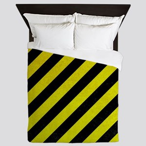 Hazard Tape Queen Duvet