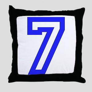 #7 Throw Pillow