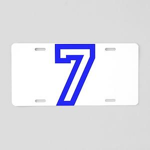 #7 Aluminum License Plate