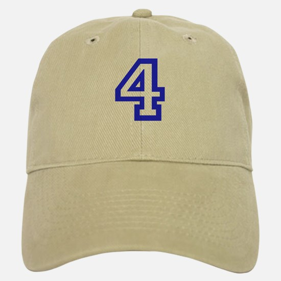 #4 Baseball Baseball Cap