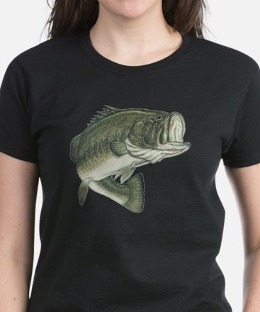 big bass Women's Dark T-Shirt