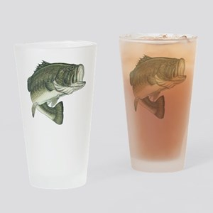 big bass Drinking Glass
