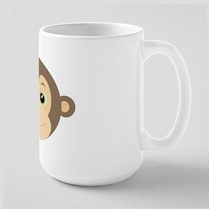 Monkey Green Large Mug