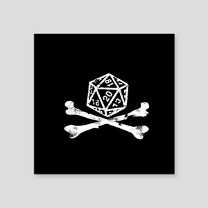 D20 and crossbone Sticker