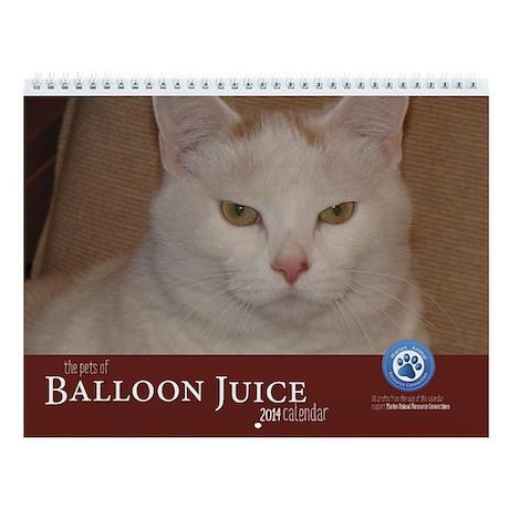 The Pets Of Balloon Juice 2014 Calendar