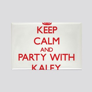 Keep Calm and Party with Kaley Magnets