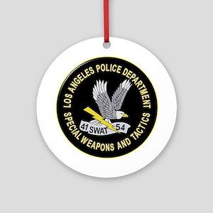LAPD SWAT Ornament (Round)