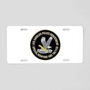 LAPD SWAT Aluminum License Plate