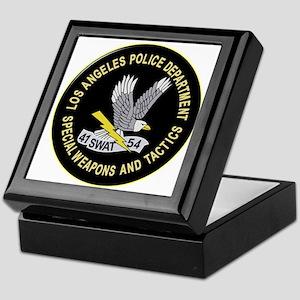 LAPD SWAT Keepsake Box