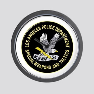 LAPD SWAT Wall Clock