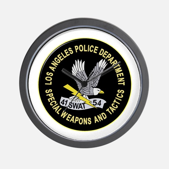 LAPD SWAT Wall Clock