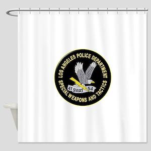 LAPD SWAT Shower Curtain