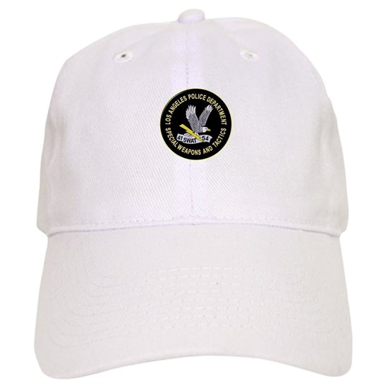 a4e47c0cc87 LAPD SWAT Baseball Cap by LawrenceMercantile - CafePress