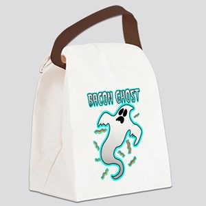 Bacon Ghost Canvas Lunch Bag