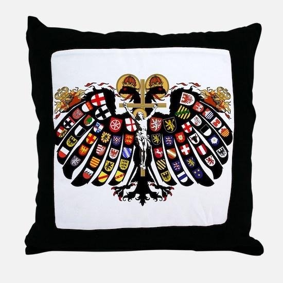 Holy Roman Empire Coat of Arms Throw Pillow