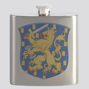 Royal Arms of the Netherlands Flask