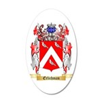 Erlichman 20x12 Oval Wall Decal