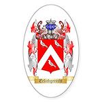 Erlichgerecht Sticker (Oval 50 pk)