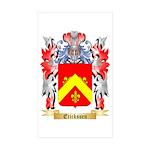Erickssen Sticker (Rectangle 10 pk)