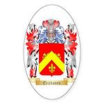 Erickssen Sticker (Oval 10 pk)