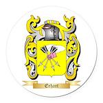 Erhart Round Car Magnet